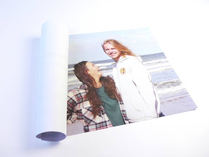 Foto op los canvas doek